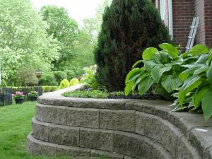 retaining wall constructed in Alexandria, VA